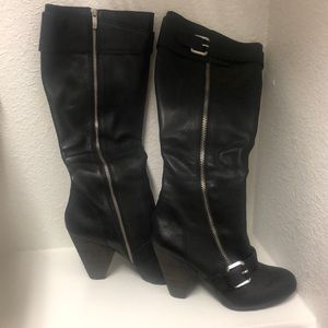 Sz 10B/40 | Vince Camuto Knee High Leather Boots